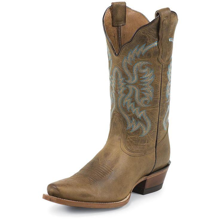Women's Nocona® 11 inch Old West Boot, Tan