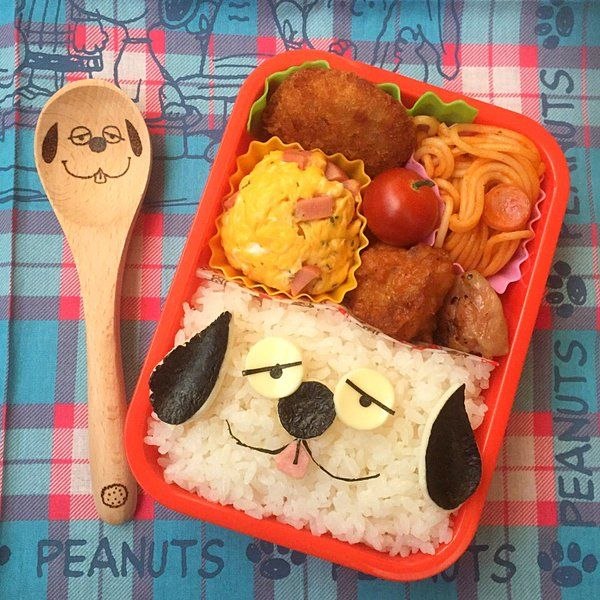 posted by @namimocchi JC部活弁当 オラフ。ぶさいくすぎる。#obento #obentoart #キャラ弁 #スヌーピー #peanuts