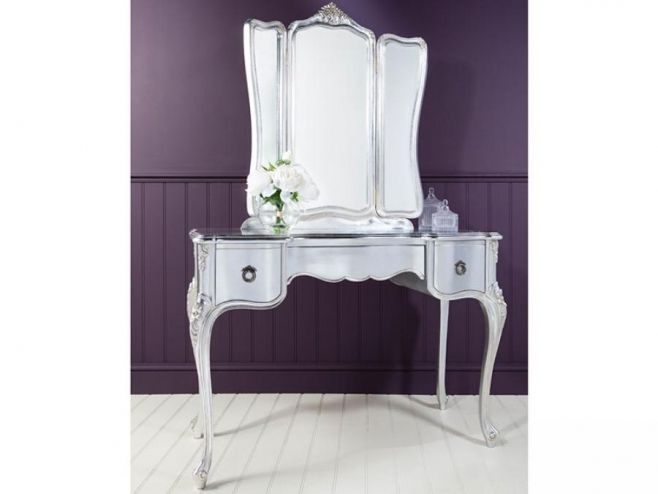Timeless and impeccable, this modern Gallery Frank Hudson Alexandria Dressing Table is just perfect #furniture #dressingtable
