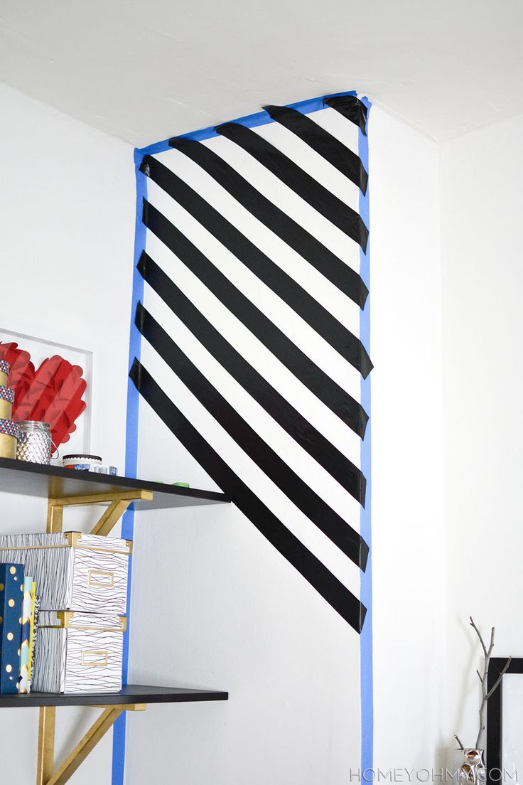 ideas about Striped Accent Walls on Pinterest