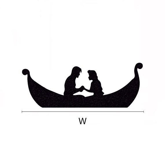 Image result for tangled boat silhouette