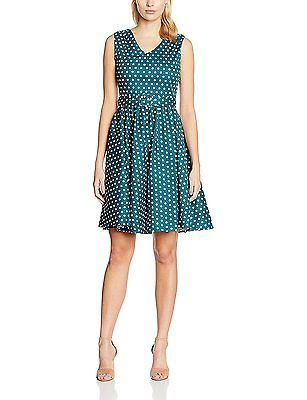 UK 11.5, Blau (peacock Blue Ag), Dolly and Dotty Women's Wendy Casual Clothes NE