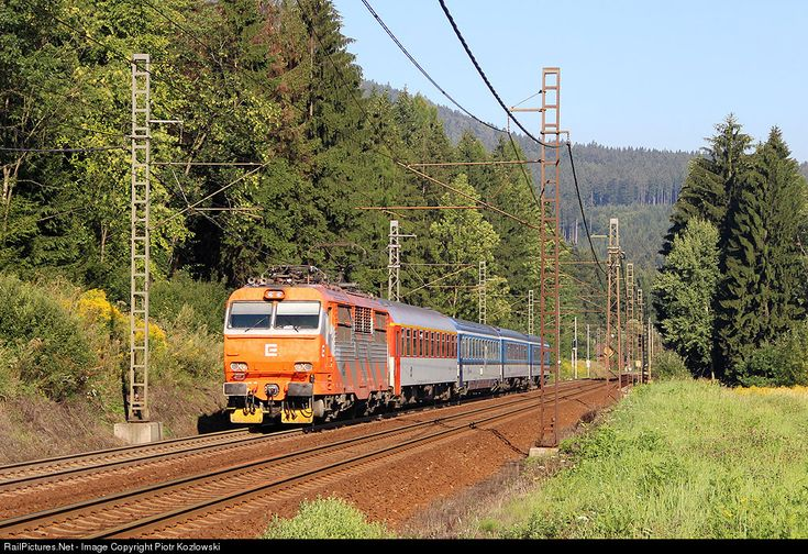 RailPictures.Net Photo: 150 019-7 CD - Ceske Drahy Škoda 65E at Bocanovice, Czech Republic by Piotr Kozlowski