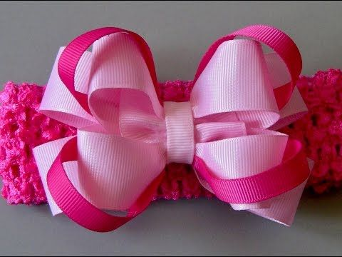 Laço de fita de gorgurao luxo -Ribbon bow tie - YouTube