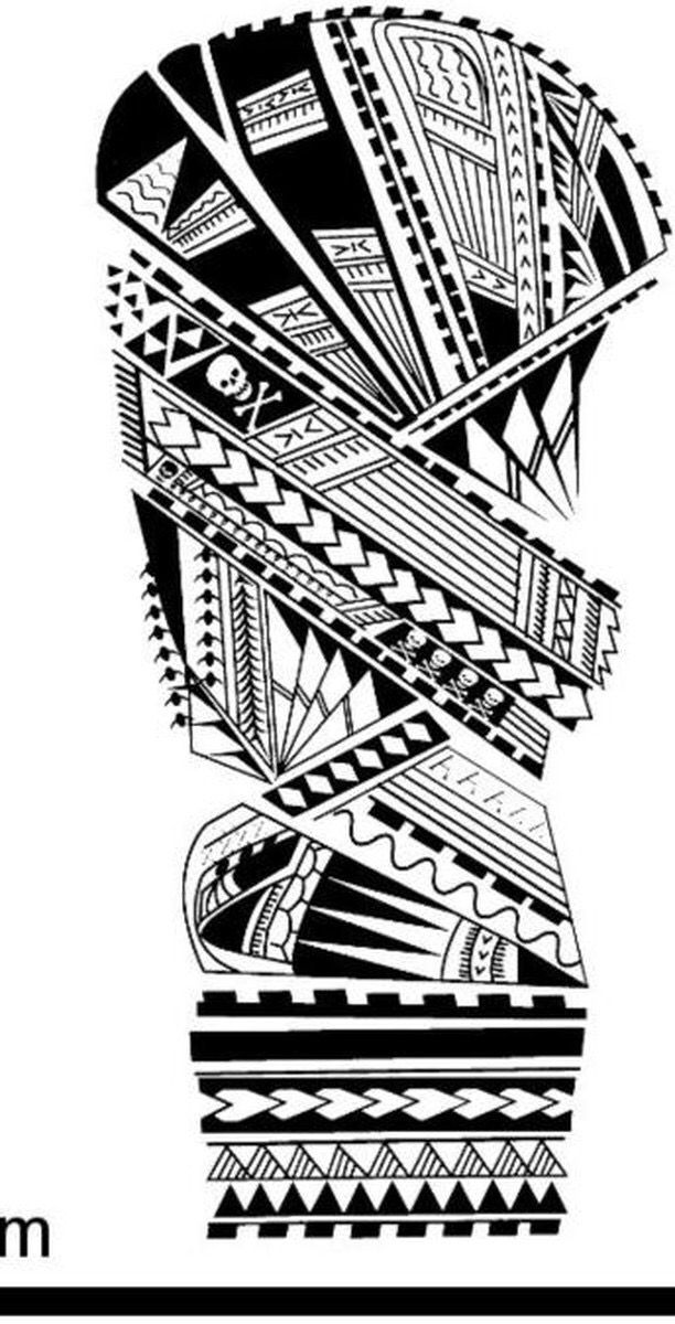 Tatuagem Maori Na Perna Inspiracoes Para Voce Fazer A Sua