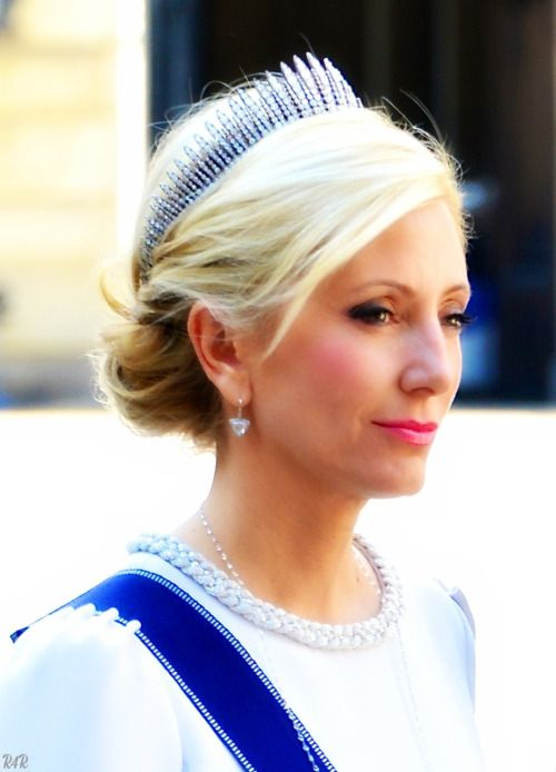 "Royal Bio: Crown Princess Marie-Chantal of Greece ◆ Marie-Chantal Claire Miller ◆ born September 17, 1968 ◆ wife of Crown Prince Pavlos ◆ married on July 1, 1995 ◆ born in London ◆ middle child of Robert Warren Miller (American) and Maria Clara ""Chantal"" Pesantes Becerra (Ecuadorian) ◆ has 2 sisters: Pia-Christina (married Christopher Getty and Alexandra-Natasha (married Prince Alexander von Furstenberg) ◆ raised in Hong Kong ◆ attended Institut Le Rosey in Switzerland, Ecole Active Bilingue…"