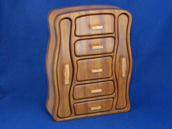 Custom Jewelry Box For Necklaces And Chains As Well As Larger Jewelry Items