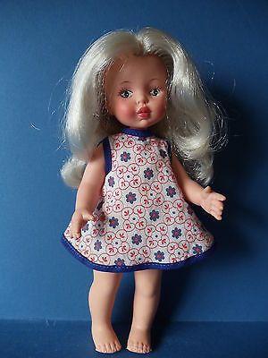 """Vintage 1960s-70s FURGA 9"""" VALENTINA Doll ITALY"""