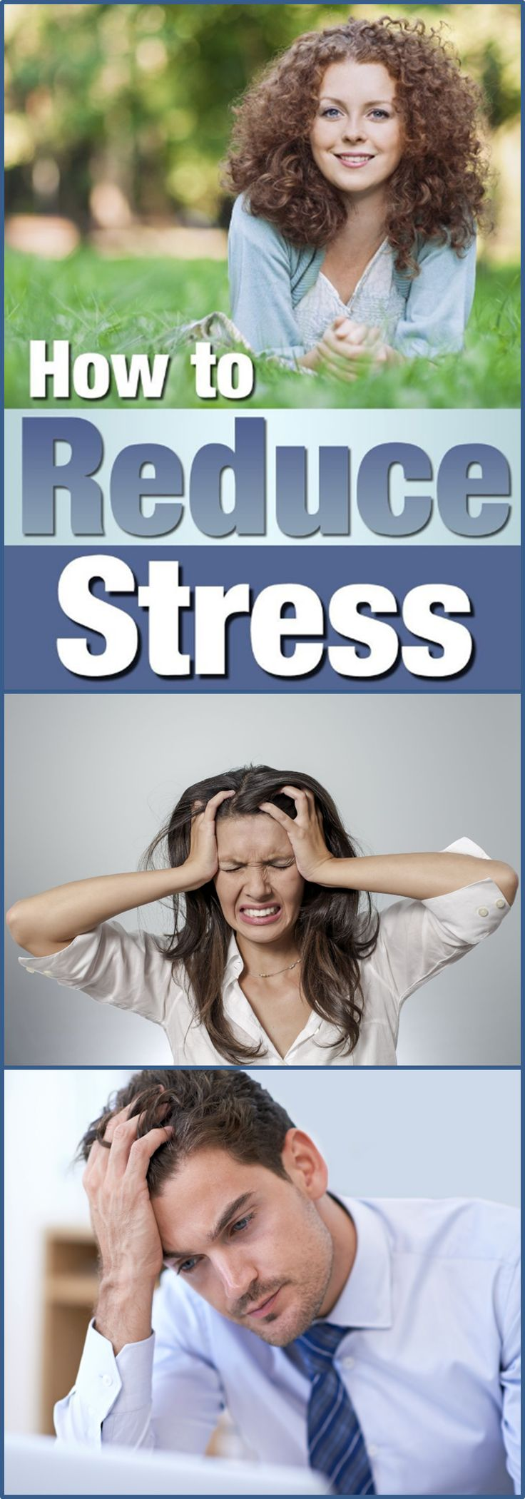 We get over-stressed now and then. It's a natural response under certain conditions. We need to be concern when our stress is getting out of hand and interfering with our lifestyle. What problems can too much stress cause? · High Blood Pressure · Colds and the Flu · Allergies · Diabetes · Damage Relationships · General Bad Health...