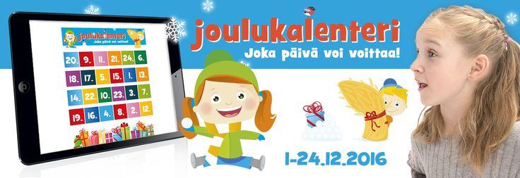 Avaa luukku ja voita joka päivä palkintoja! http://www.lelutehdas.fi/index.php/kilpailut/joulukalenteri/
