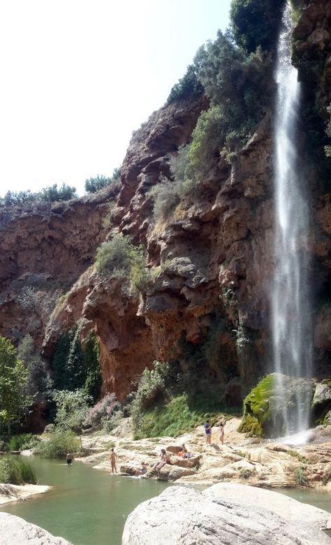 Navajas - El Salto de la Novia se pone de largo #turismo  #turismocomunidadvalenciana #comunidadvalenciana #spain #españa #pueblos #pueblosbonitos #piscinas #piscinasnaturales #castellon #navajas #saltodelanovia