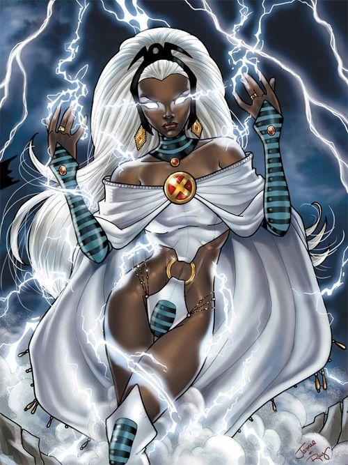 The weather witch - my favorite comic book character of ALL TIME!!!  Storm.  <3!