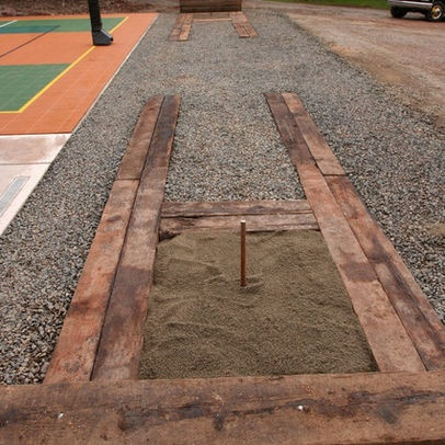 Horseshoe Pit Design Ideas, Pictures, Remodel, and Decor