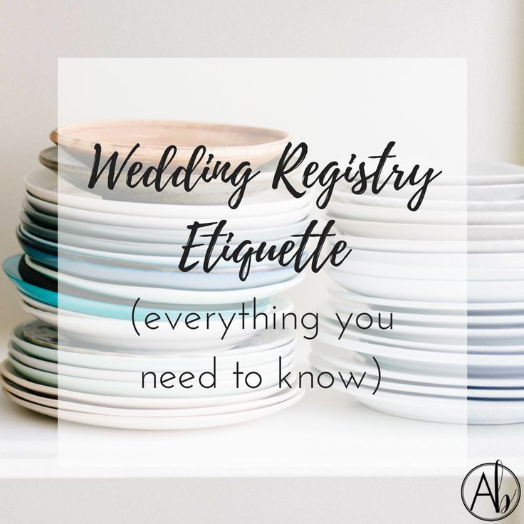 What I've learned, the do's and don'ts, and how to make registering for your wedding a painless (and even fun!) process
