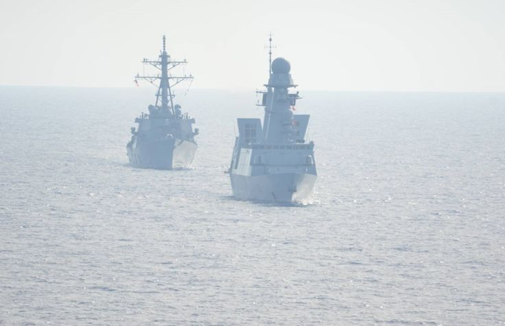 On 26 April 2015, as part of its operational deployment in the eastern Mediterranean, French Marine Nationale air defense frigate Forbin led with the American destroyer USS Laboon different operational cooperation.