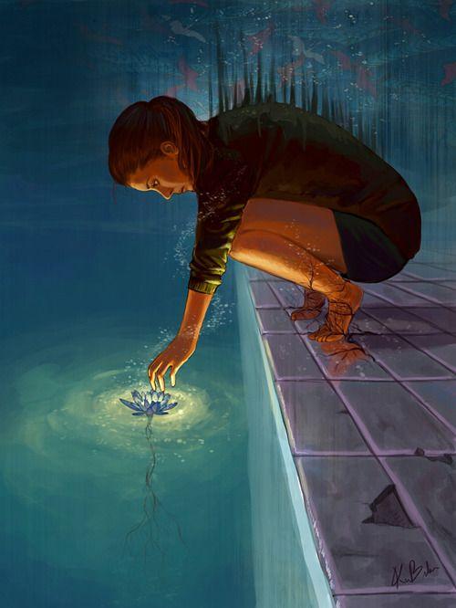 The Lotus by Kimberly Bicknese