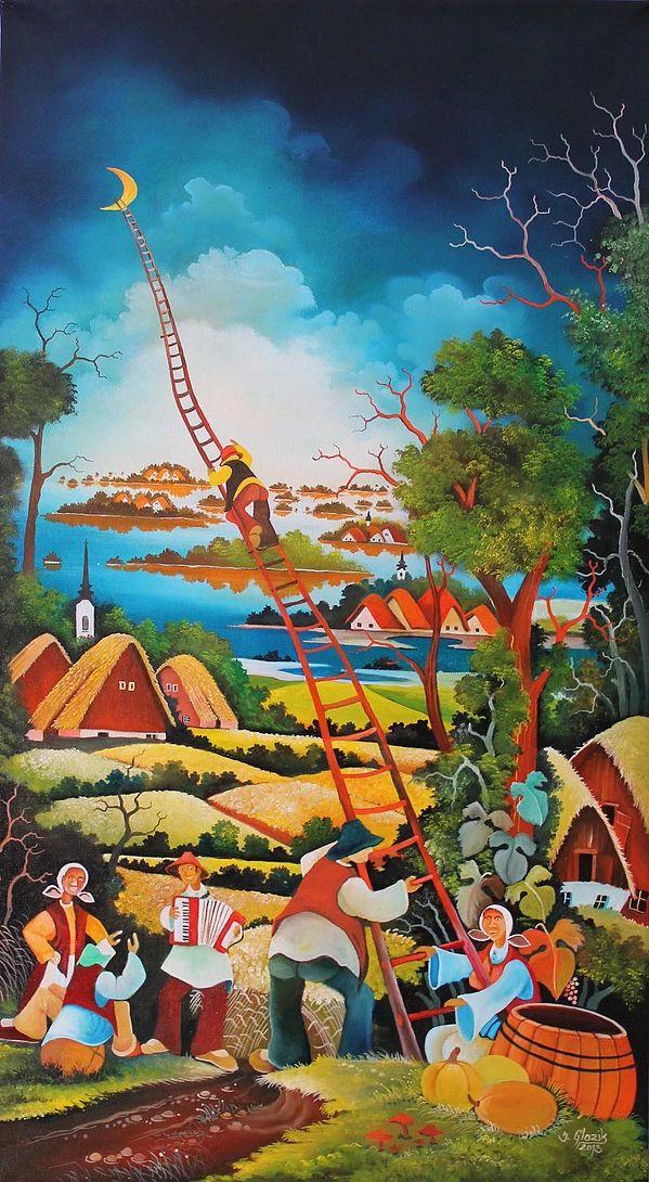 Jan Glozik naive art painter | Gallery