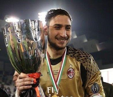 Gianluigi Donnarumma dedicated the Supercoppa Italiana triumph to Milan President Silvio Berlusconi after beating Juventus. It ended 1-1 in Doha  Source
