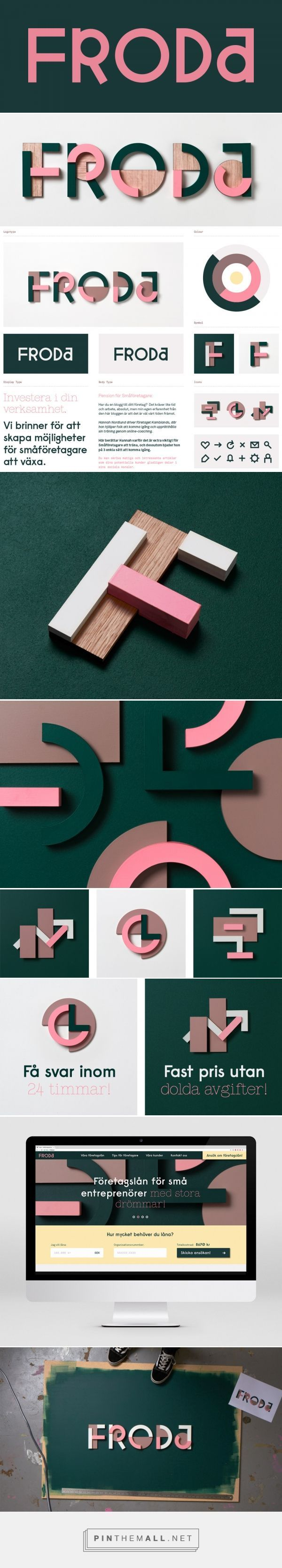 Brand New: New Name, Logo, and Identity for Froda by Snask... - a grouped images picture - Pin Them All