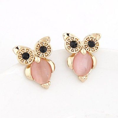 Owl Shape Simple Design Pink. Fashionable with passion REPIN if you like it.😊 Only 37 IDR