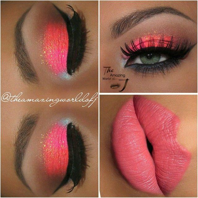 peach color~