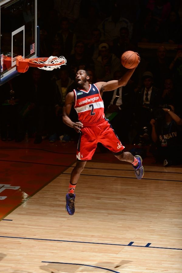 "NBA Kicks All-Star Saturday: John Wall ""wins"" Slam Dunk Contest in adidas  Crazy 1"
