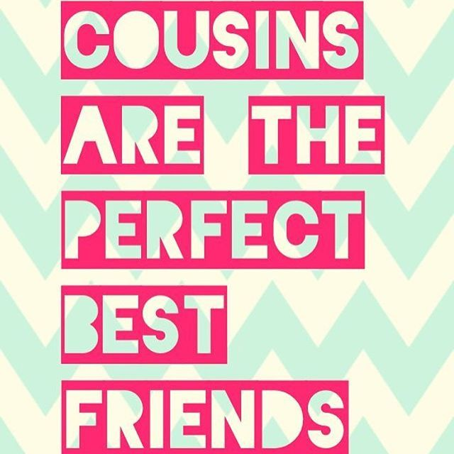 Top 100 cousin quotes photos Who needs friends when you have amazing cousins? Tag your cousins in the comments section below!! #cousinquotes #cousins #precious #cutequotes #tagyourcousins #Followforfollow #likeforlike #family #goodmemories #love #cousinlove #smile See more http://wumann.com/top-100-cousin-quotes-photos/