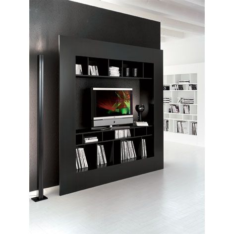 Aesthetically Design Wooden TV Stands From Cattelan With Modern Sleek Style Living Room StorageLiving FurnitureDeco