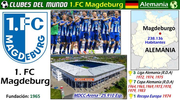 El historico 1.FC Magdeburg va en puestos de ascenso en la 3.Bundesliga Alemana, con opciones a subir a Segunda. Es Campeón de Recopa Europa 1974. Lleva conquistados 3 Ligas y 7 Copas de la RDA (DDR). En 2015 ascendio por primera vez a la 3.Bundesliga de la Alemania unificada.  Magdeburg #Bundesliga #Fussball #Deutschland #SachsenAnhalt #Futbol  #Germany #FCMagdeburg #DDR