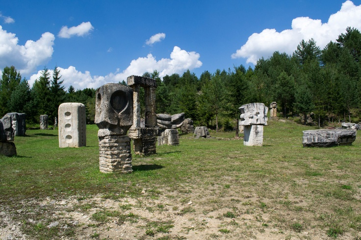 Museum of sculptures in Vysne Ruzbachy