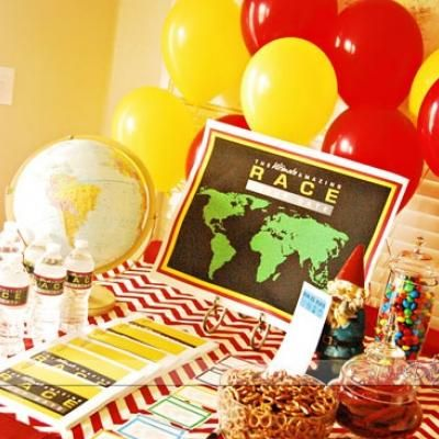 The Ultimate Amazing Race Group Date {party theme ideas for adults}