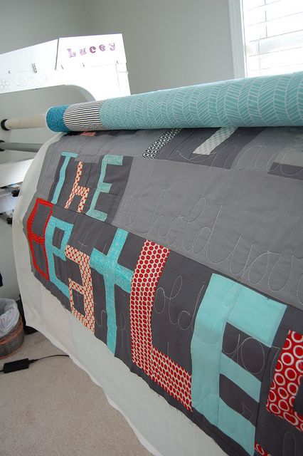 Bits and Pieces by Bluprint Textiles, via Flickr
