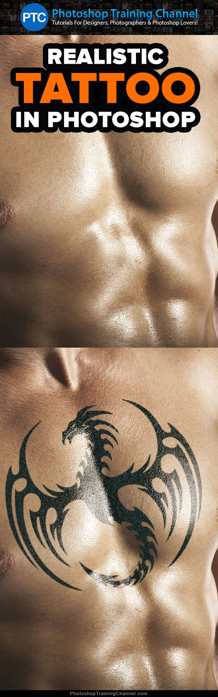 Airplane tattoo designs bodysstyle - How To Add Realistic Tattoos In Photoshop