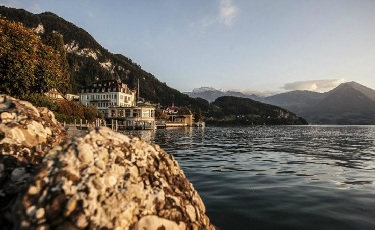Hotel Terrasse am See - Switzerland #historictraveller #travel #switzerland #inspiration