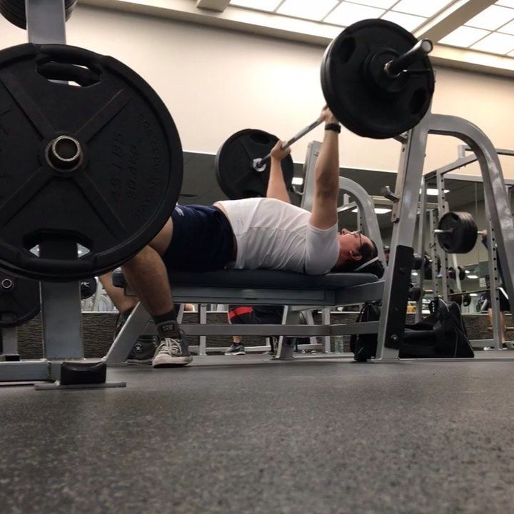 More Bench Press Work Here S My Last Set Of Week 1 Wendler 240 Lbs X 8 Reps Really Happy With This Espe Powerlifting Motivation Bench Press Chest Workout