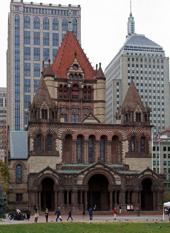 Trinity Church. Boston, Massachusetts.: