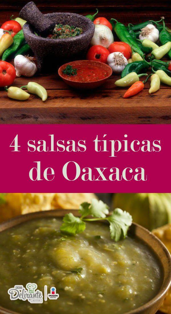 Ya no va a ser necesario viajas hasta Oaxaca para saborear y disfrutar sus deliciosos sabores. A continuación te brindamos 4recetas de salsas deliciosas que nos compartieron en nuestro último viaje a Oaxaca.Salsa de chile de árbolIngredientes1 ajo1 trocito de cebolla50 gramos de chile de árbolSalPreparación