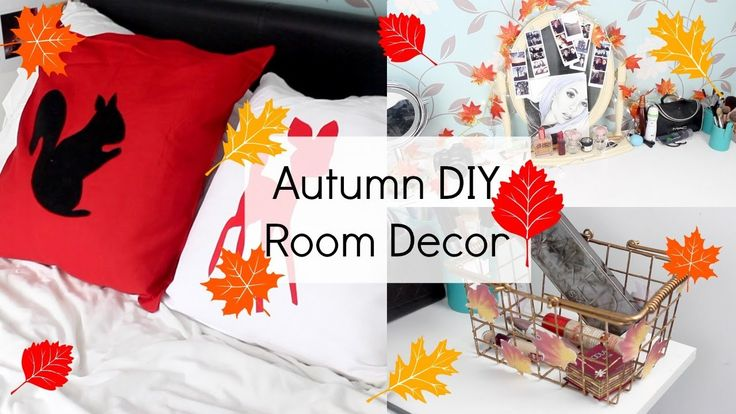 Easy Autumn DIY Room Decor | Sophie Foster