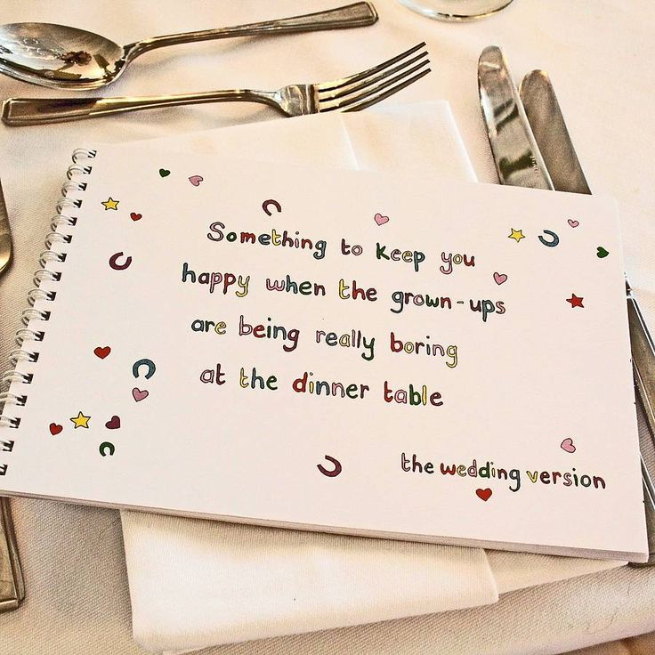A fab idea of presenting a Children's  Activity Book with out making the table look messy! http://www.notonthehighstreet.com/theweddingofmydreams/product/children-s-wedding-activity-book#