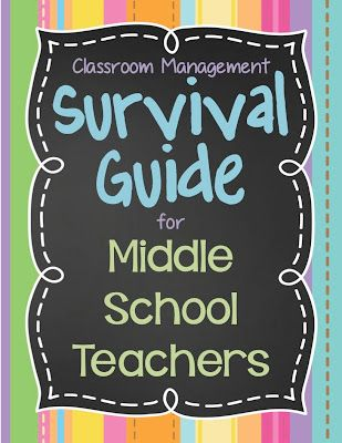 Over this summer, I've been contacted by a few teachers who are either starting their first year teaching in middle school or moving from elementary to middle this year, so I decided to write…