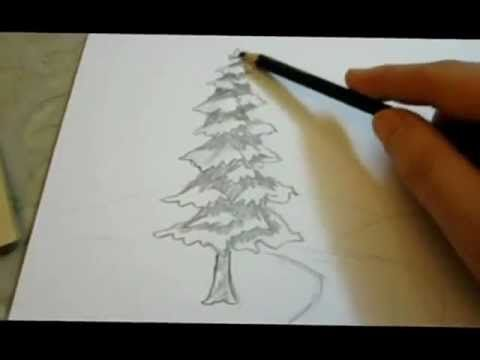 Pencil Drawing Landscape Tutorial