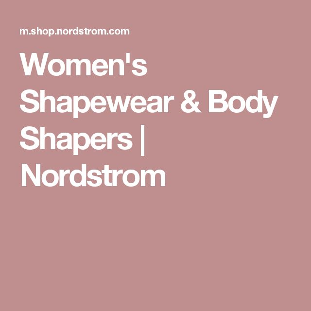 Women's Shapewear & Body Shapers | Nordstrom