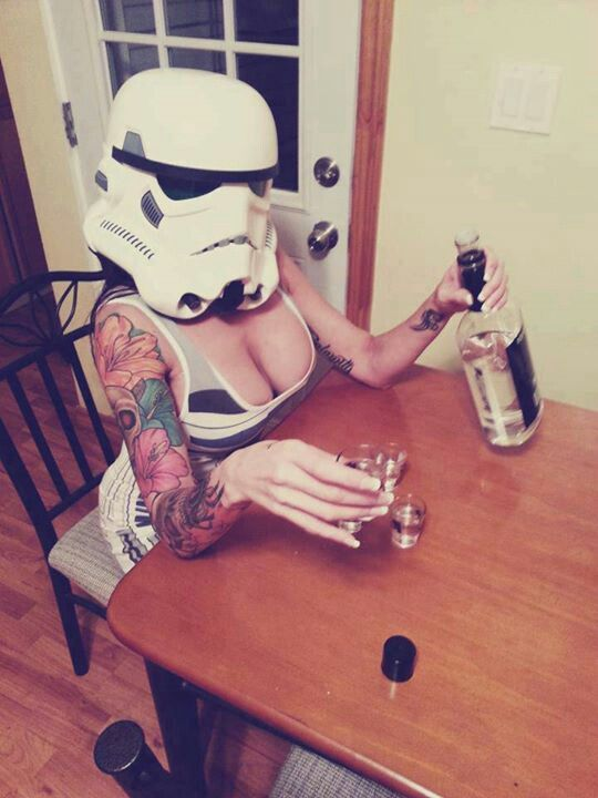 Masked Star Wars Shots