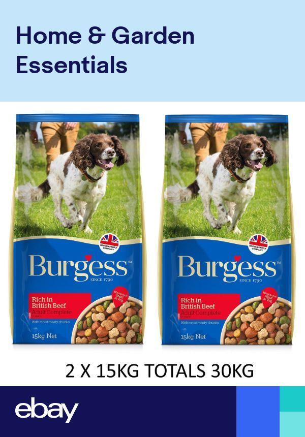 Burgess Supadog Adult Beef 2x15kg Sacks Dry Dog Food Supa Dog 30kg