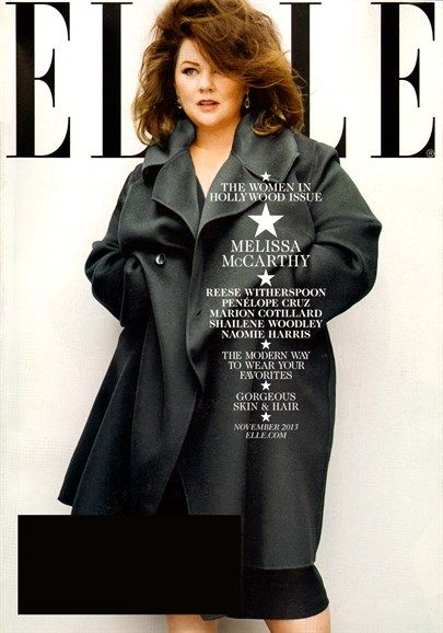 Melissa McCarthy (2013.11. Elle) #MelissaMcCarthy