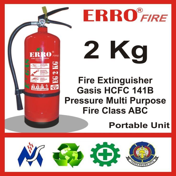 Alat Pemadam Kebakaran Gasis Pengganti Hallon 2 Kg | Tabung Apar