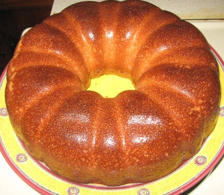 Cheerwine Pound Cake Icing