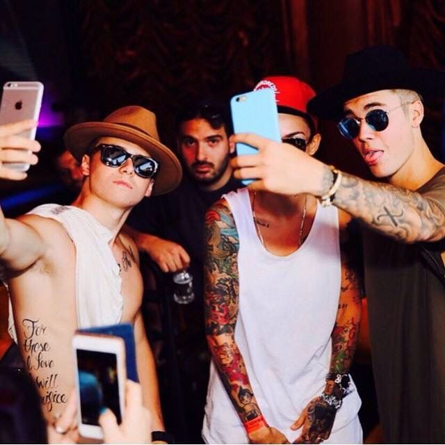 Ruby Rose and Justin Bieber