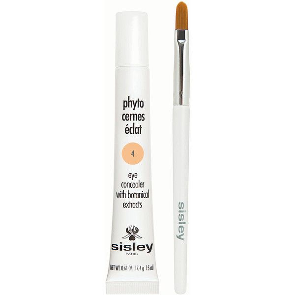 Sisley Phyto-Cernes Eclat Eye Concealer in 4 ($85) ❤ liked on Polyvore featuring beauty products, makeup, face makeup, concealer, sisley, sisley concealer, dark circle concealer and sisley mask