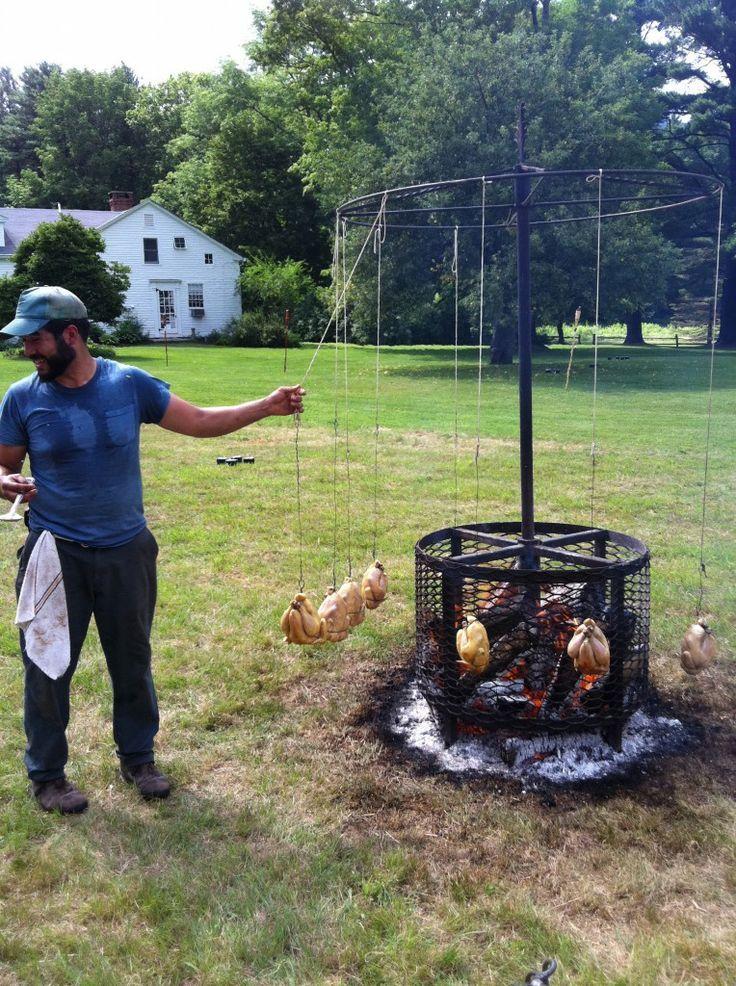 barbecue rotisserie originale